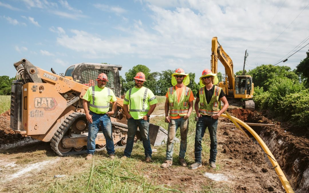 Safety. Quality. Production. In That Order: Underground Utilities Crew Feature